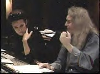Celine Dion with Jim Steinman
