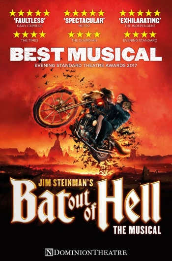 Bat Out Of Hell The Musical : Winner of the Evening Standard's Best Musical 2017