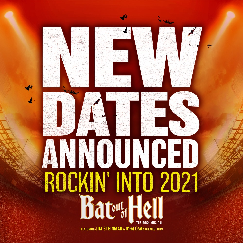 Bat Out Of Hell Musical tour Australia 2021