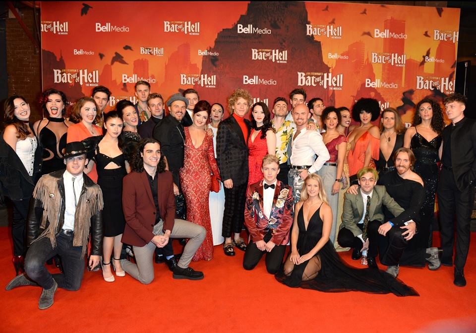 Bat Out Of Hell the musical - cast
