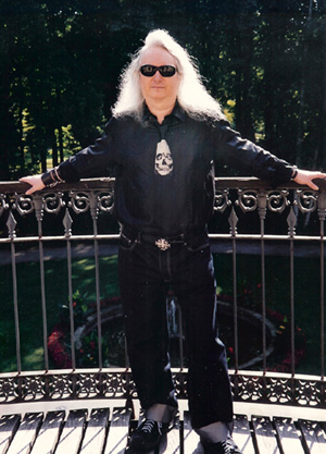 Jim Steinman, photographed on a trip to Richard Wagner's grave site in Bayreuth