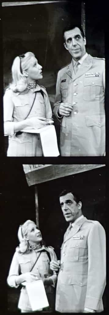 Kimberly Farr and Fred Gwynne